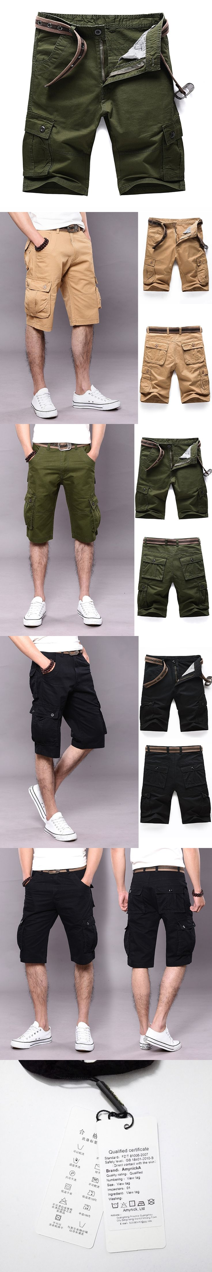 Military Shorts Multi-pocket Militar Tactical Cargo Outdoor Combat Swat Army Training Sport Hiking Hunting Shorts BYL9306