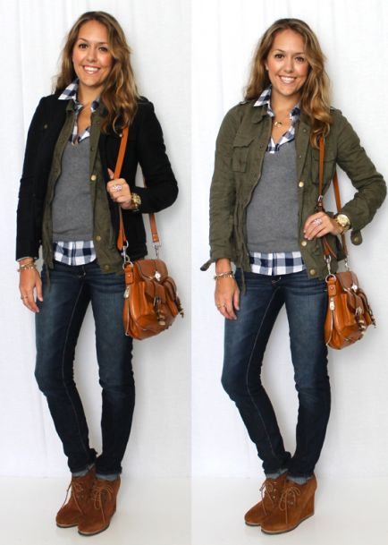 25+ best ideas about Military jacket outfits on Pinterest | Army jacket style Green jacket and ...