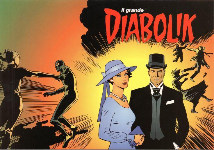 """PROMOCARD n.3156 2002 - DIABOLIK 087: """"Relazioni pericolose"""""""