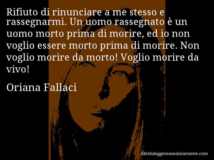 Cartolina con aforisma di Oriana Fallaci (11)