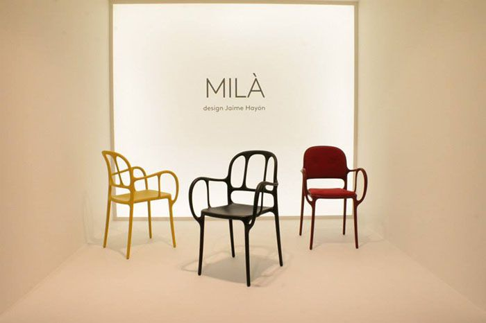 new Mila chair at Salone Del Mobile 2015