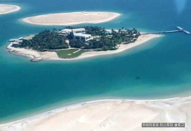 두바이 더월드에 만들어진 아름다운 첫번째 섬 이야기 :: 두바이포유
