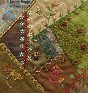 Crazy Quilting and Embroidery by Sharon Boggon