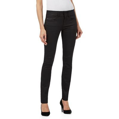 G-Star Raw Black skinny fit jeans   Debenhams