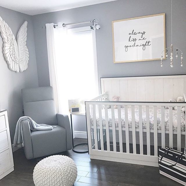 Total Sunday Vibes In This Bright Airy And Adorable Nursery