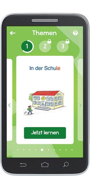 Die kostenlose DaZ-App für iOS und Android – mit den 1300 wichtigsten Wörtern…
