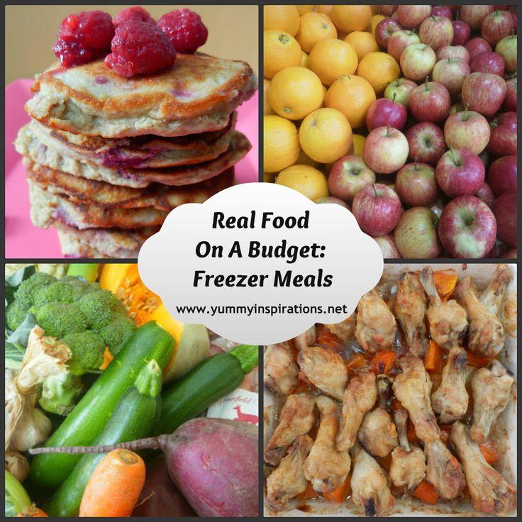 Real Food On A Budget - Freezer Meals