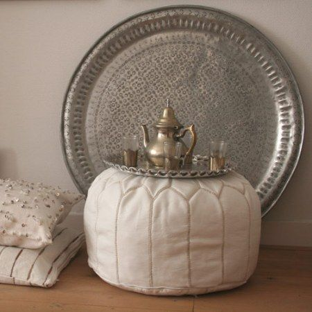 Moroccan can be mixed with a touch of elegance. Silverware would be awesome and handy to have. Need my new house now.