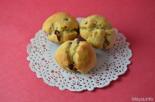 Biscotti miele e uvetta