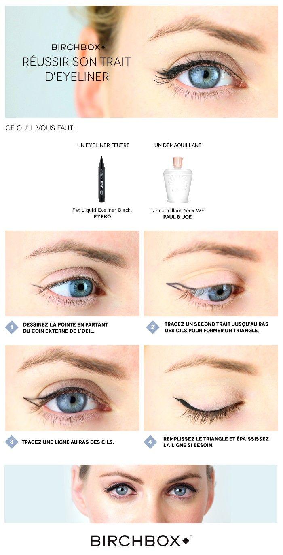 Les 25 meilleures id es de la cat gorie trait d eye liner sur pinterest trait eye liner eye - Comment faire un trait d eye liner ...