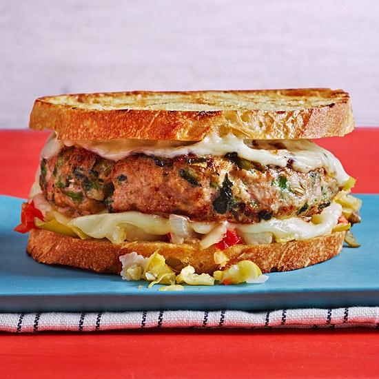 Pork broccoli rabe sandwich recipe