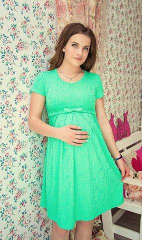 Платье для беременныхм Алиса мятное
