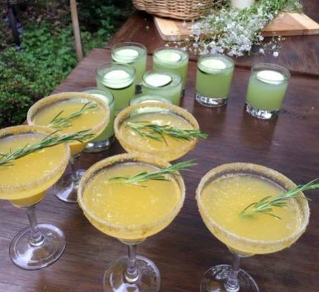 Rosemary and Citrus Cocktail