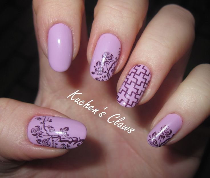 481 best stamp nails images on pinterest makeup nail art and violet rose stamping nails httpkuchensclawsbornprettystore review prinsesfo Choice Image