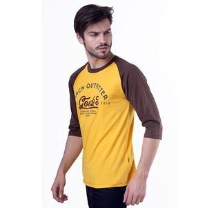 Kaos Raglan Pria Casual Harian [H 0707] (Brand HRCN) Original Bandung