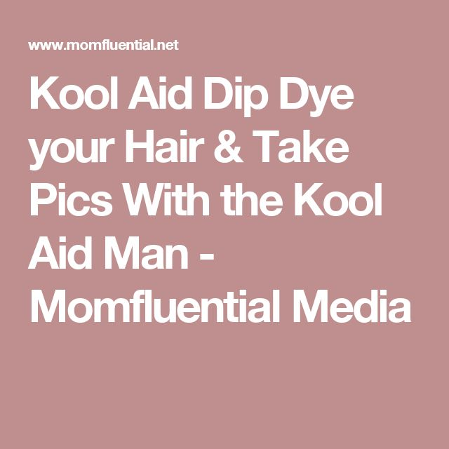 how to take out kool aid from hair