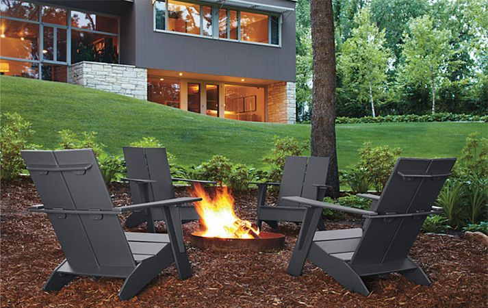Room and Board - Loll Outdoor Collection.  Makes me want to roast some marshmallows.  :)