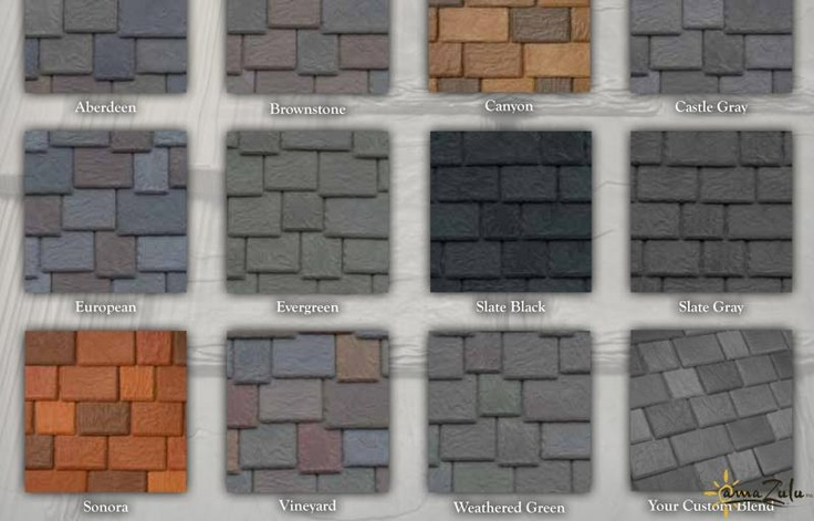 17 Best Images About Tile Dollhouse Roofs On Pinterest
