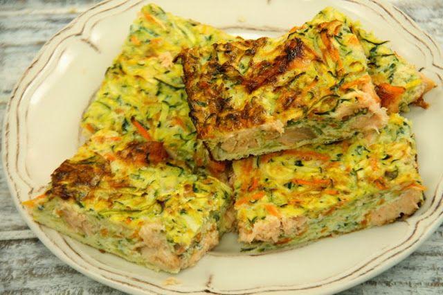 Kuchnia w wersji light: Zapiekanka z cukinii i łososia