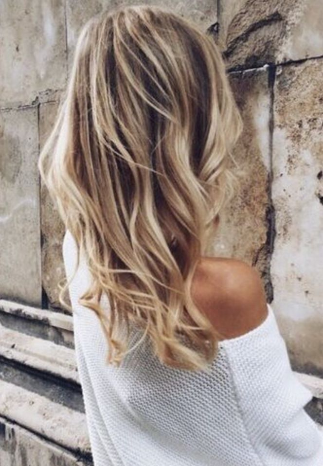 curly waves