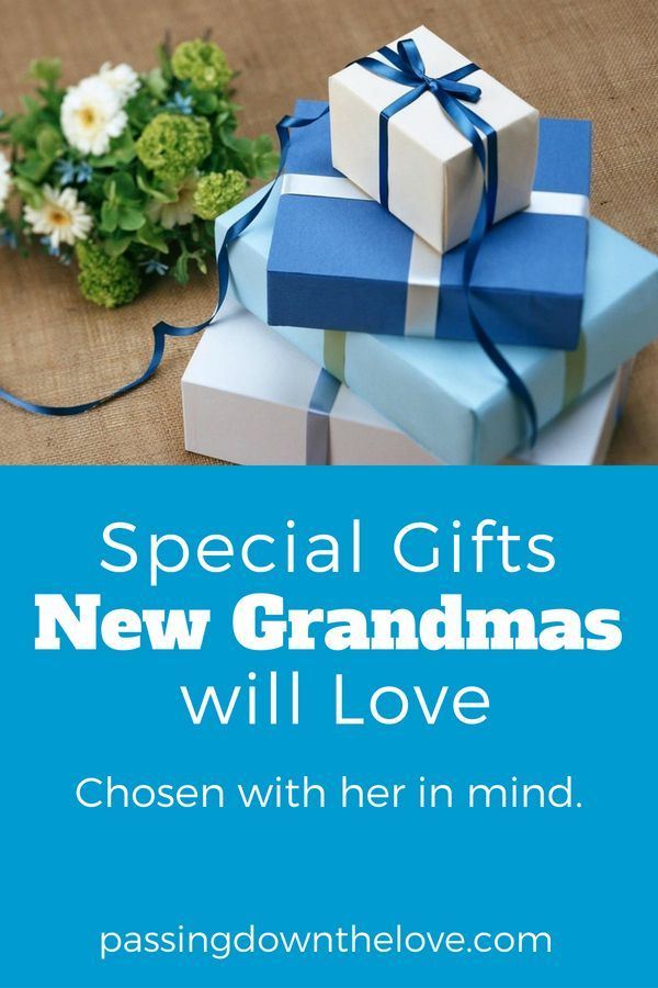 Special Gifts For The New Or First Time Grandma