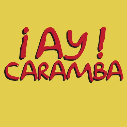 Blusa The Simpsons - ¡Ay Caramba! - Arts & Music Store