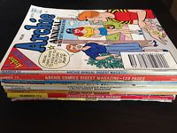SOLD!!!  Archie Digest Library & Jughead Double Digest, Laugh Digest Magazine of 8 issues