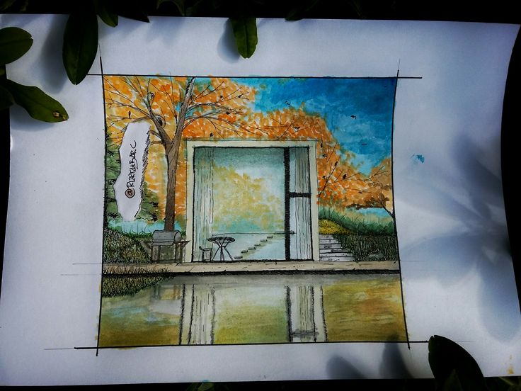 #watercolor #koi