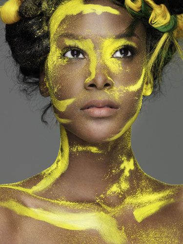 Celebrity Images: America's Next Top Model Winner Teyona Anderson