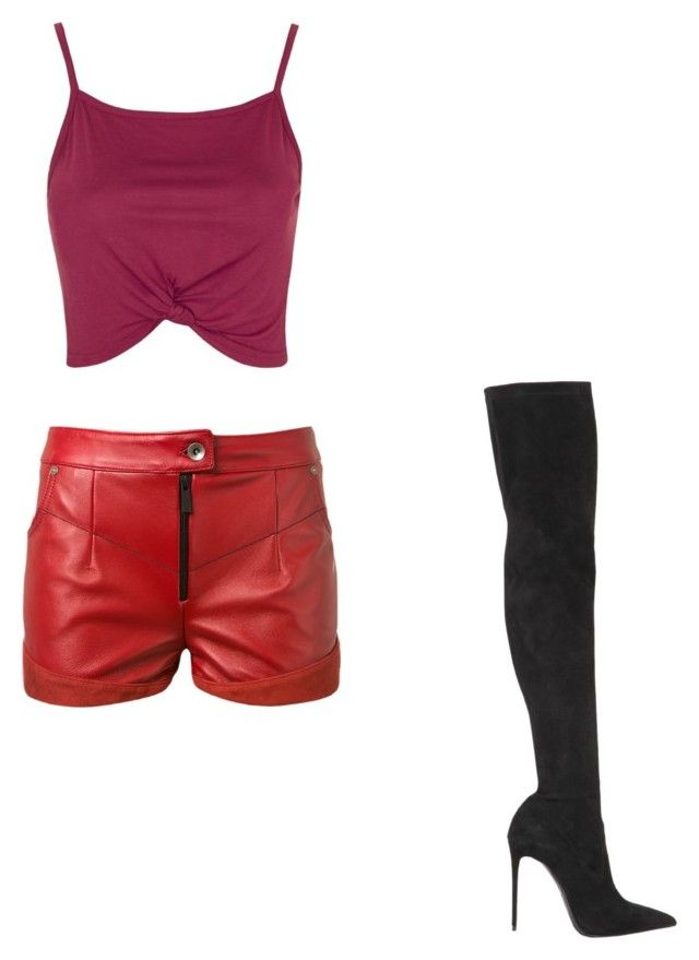 """""""Untitled #112"""" by omaimet on Polyvore featuring Le Silla, Magda Butrym and Topshop"""