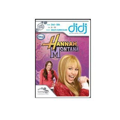 Leapfrog Enterprises Didj Game: Hannah Montana (30694) by Leapfrog Enterprises. $4.98