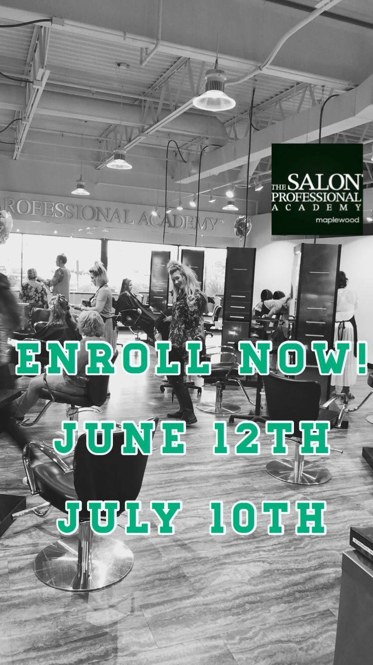 Get started on a beautiful future. ⭐ Cosmetology classes
