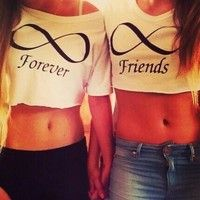 Forever Friends Infinity Shirts