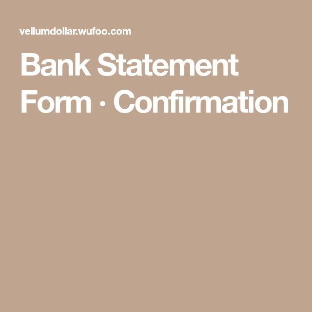 Bonnie Bankston (bonnie_bankston) on Pinterest - statement form