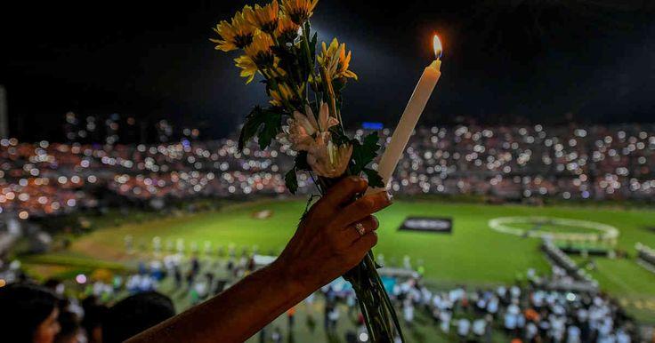El impresionante homenaje de los paisas a los jugadores del Chapecoense