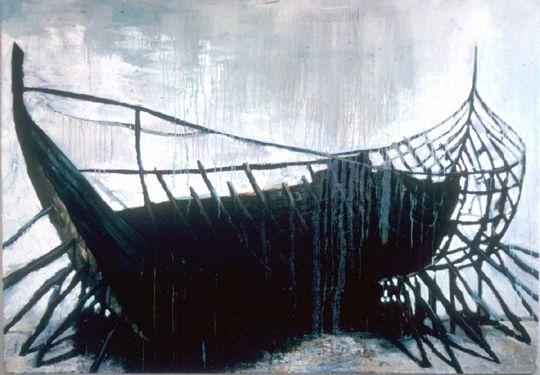 """""""Olennainen"""" Painting by Samuli Heimonen"""