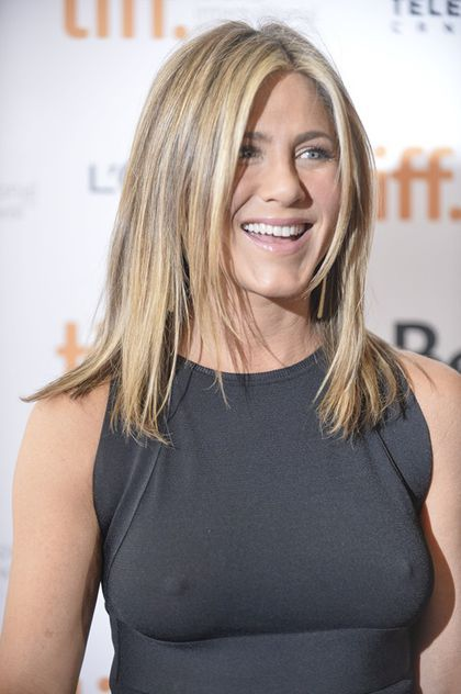 Frisur jennifer aniston 2014
