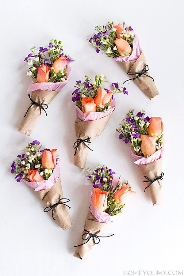 Ideas de regalo para mamá: un arreglo de flores