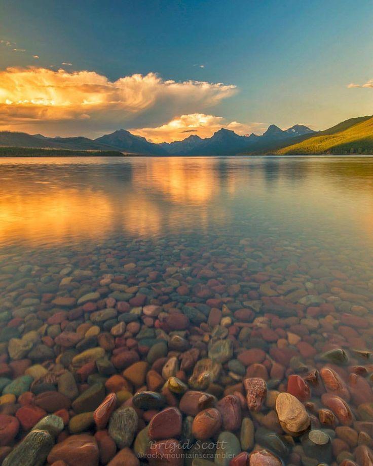 Lake McDonald, Glacier National Park. Photograph by @rockymountainscrambler