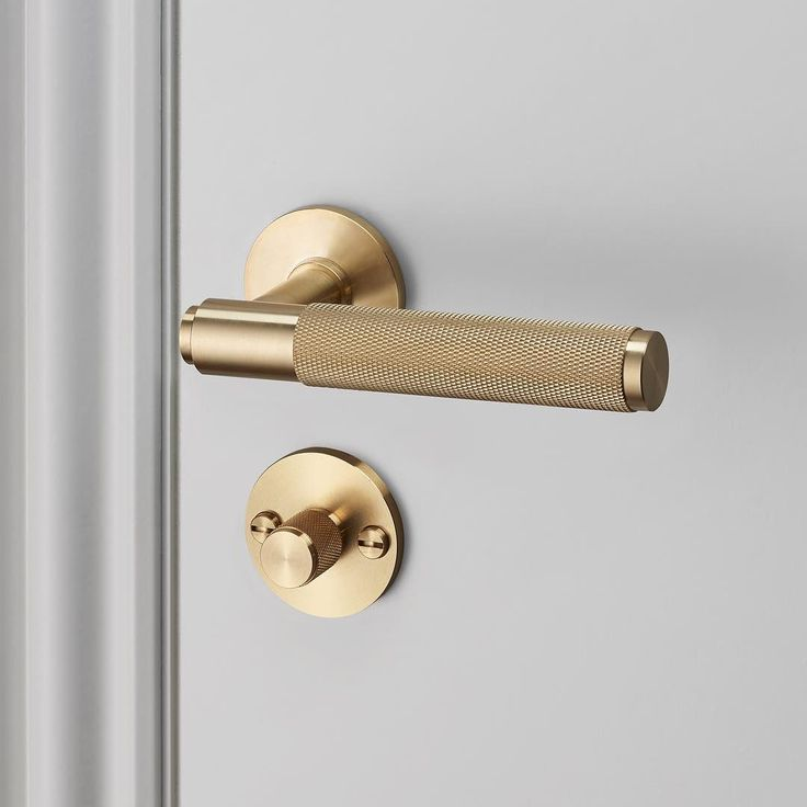 Buster & Punch brass door handle!