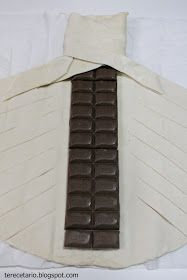 Hojaldre de chocolate
