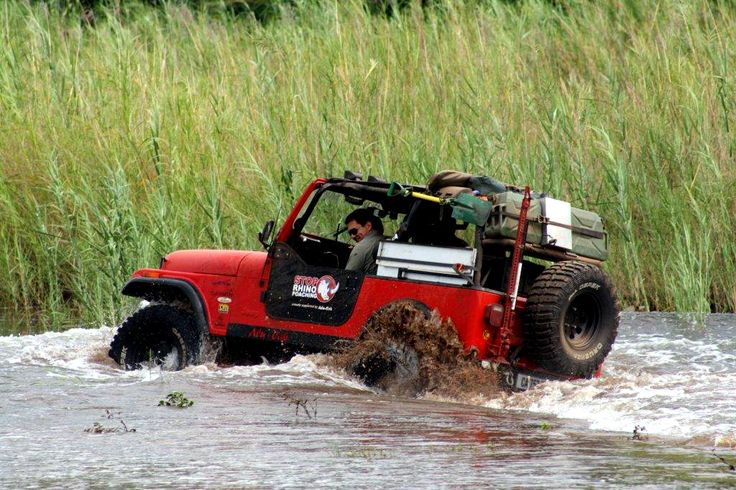 Jeep water crossing