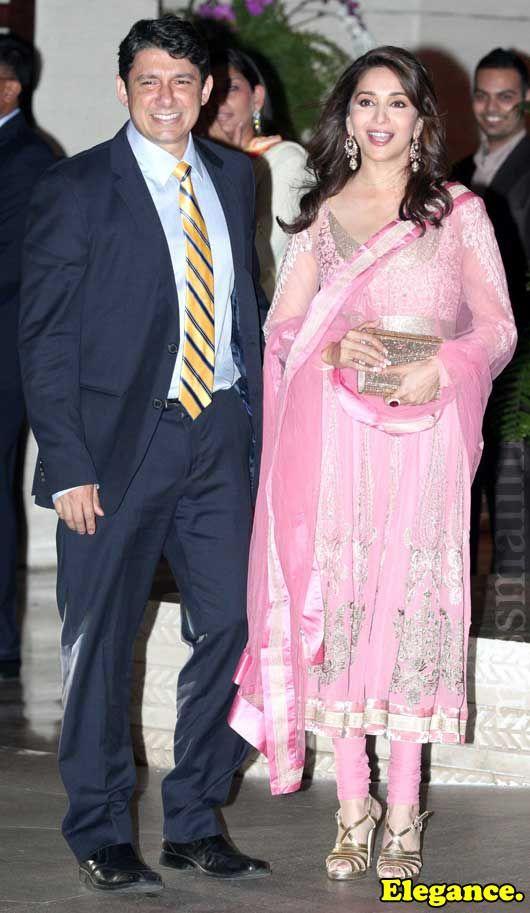 Sriram and Madhuri Dixit Nene