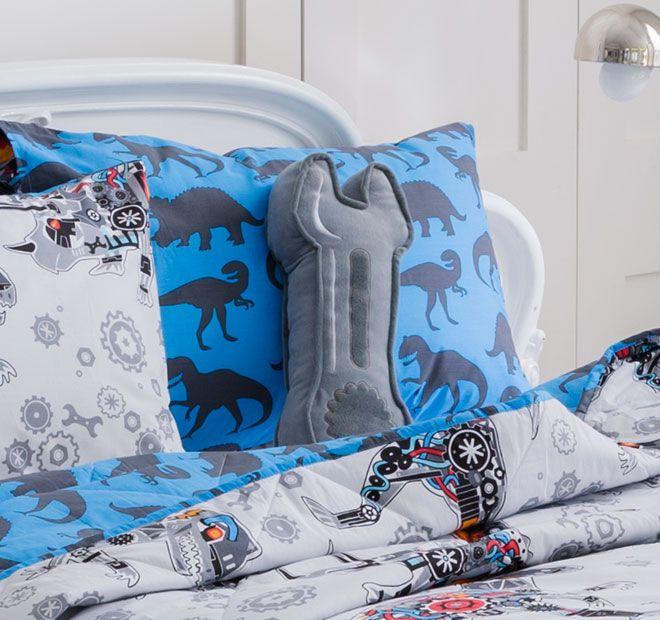 Kooky Robosaurus Spanner Cushion