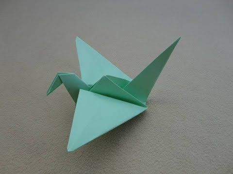How to Make an Origami Flapping Bird - Rob's World - YouTube | 360x480