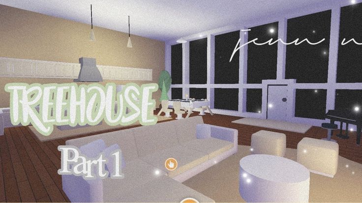 The living room is one of the most important areas in your house for a great hosting experience. Aesthetic Tree house Speed build! (Part 1) Roblox Adopt Me