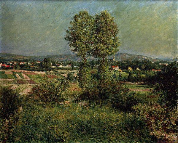 Gustave Caillebotte-Landschaft bei Argenteuil