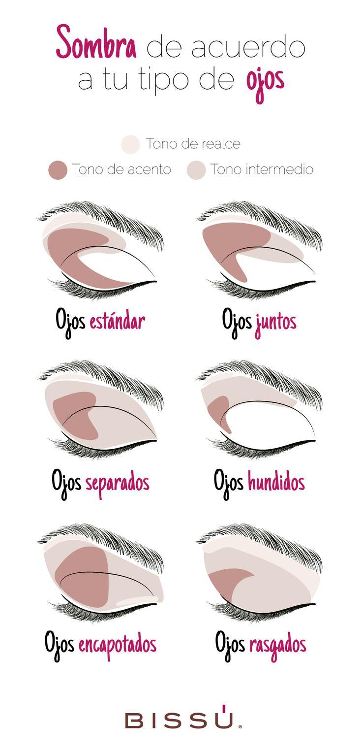 Aplica tu sombra adecuadamente. http://tiendaweb.bissu.com/ojos/21-sombra-individual-compacta.html