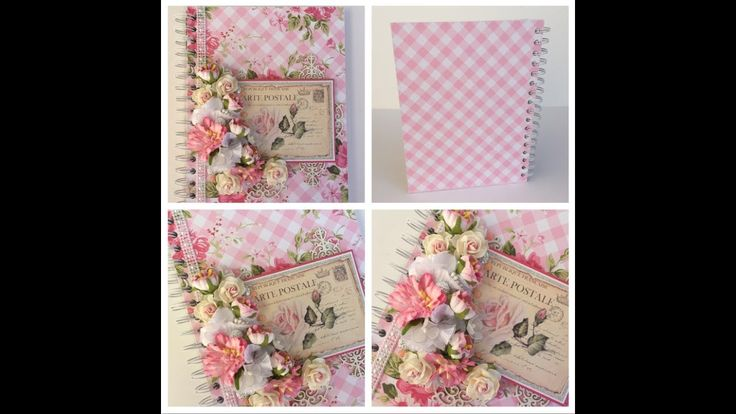 Beautiful handmade journal (start to finish) Wild Orchid Crafts!