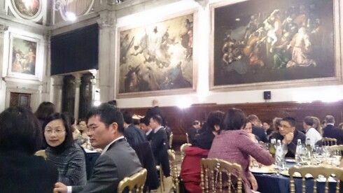 Dinners are important part of AMBA conferences #Ambaglobal #jyuEMBA